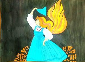 картинки для раскраски огневушка поскакушка утверждает