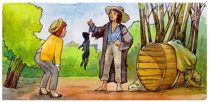 Картинки из произведения приключения тома сойера