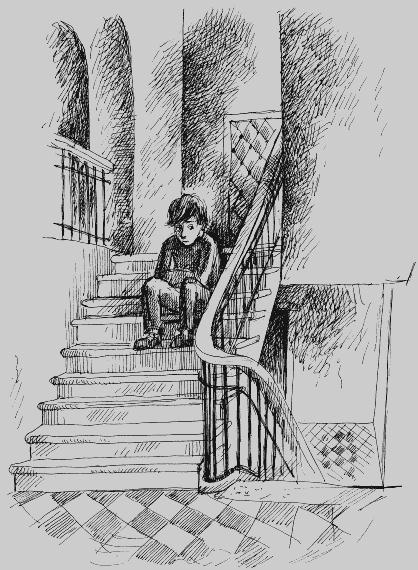 Рисунок подъезда лестницы