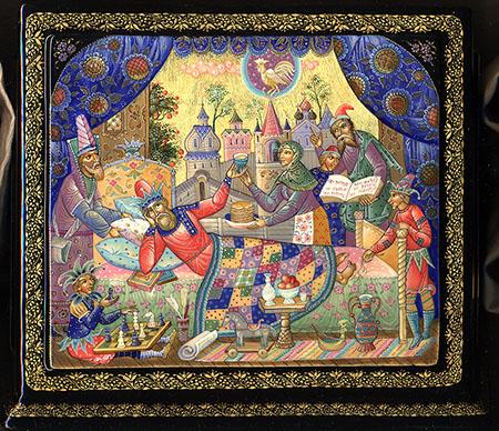 Сказка о золотом петушке - Александр Сергевич Пушкин